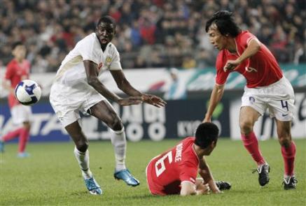 [Photos] SENEGAL-COREE-FOOTBALL : Les Lions Battus 2 À 0 Par Les Coréens
