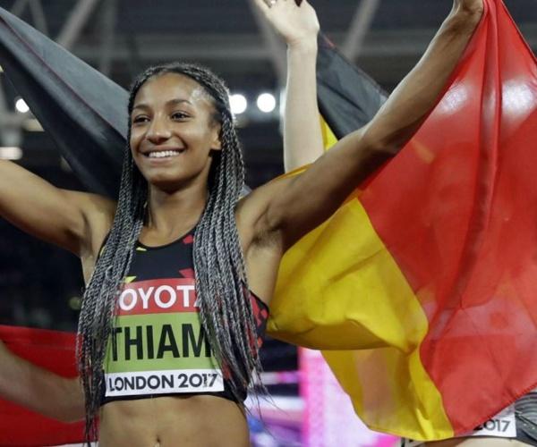 Mondiaux d'Athlétisme 2017: Nafissatou Thiam,médaillée d'or en Heptathlon