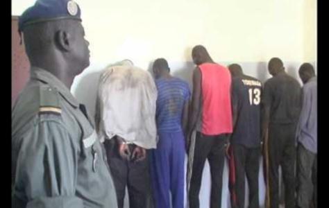 Opération coup de poing:  125 personnes interpellées pour divers délits...à Kaolack