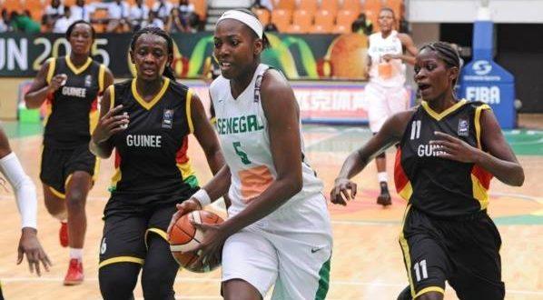 Afrobasket :Sénégal-Guinée 105-39 : La balade de la bande à Aya Traoré