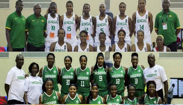 """Afrobasket Féminin : Le duel s'annonce tendu entre les """"D'Tigers"""" du Nigéria et les """"Lionnes"""" du Sénégal"""