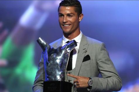 Cristiano Ronaldo élu joueur UEFA de la saison 2016-2017
