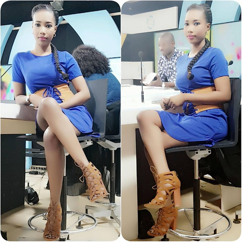 ( 06 Photos ) Admirez la belle Nana Aidara de la TFM, une vrai bombe !..