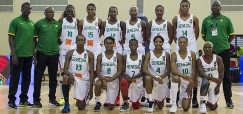 AfroBasket Dames 2017: Le Sénégal s'impose contre le Cameroun et affrontera la Mozambique en ½ finale