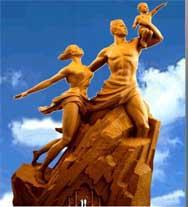 A 45 JOURS DE L'INAUGURATION DU MONUMENT DE LA RENAISSANCE A Ouakam, certains prient pour qu'un volcan vienne brûler le Monument