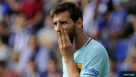 Liga : Orphelin de Suarez et de Neymar, Messi s'offre en doublé