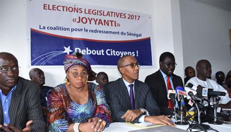 Couacs des législatives 2017 : La coalition Joyyanti invite l'opposition à se battre pour exiger le départ d'Abdoulaye D. Diallo