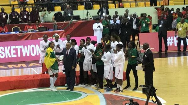 Afrobasket féminin 2017: Astou Traoré élue MVP du tournoi et dans le cinq majeur