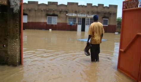 Linguère : 218 mm d'eau de pluie inondent huit quartiers de la commune