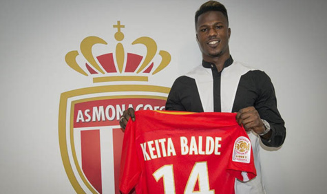 Mercato: Diao Baldé Keita s'engage avec Monaco pour 5 saisons