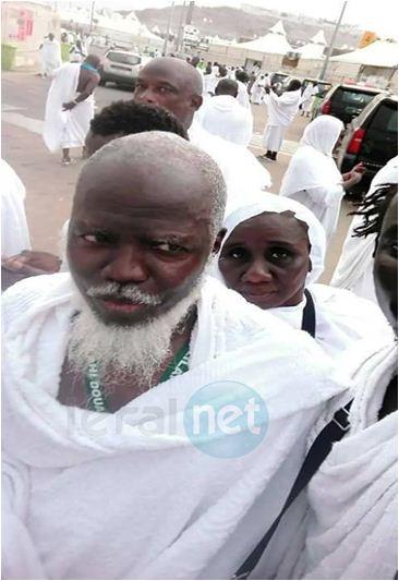 Photos exclusives : Le célèbre prêcheur sénégalais Oustaz Aliou Sall à la Mecque pour son Hadji