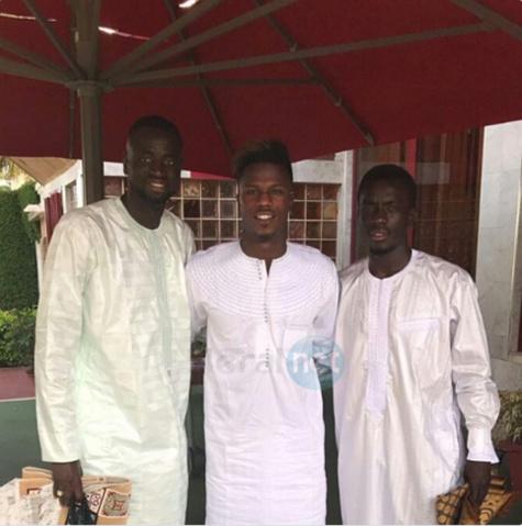 Photo: Kouyaté, Diao Baldé et Gana Guèye en mode Tabaski