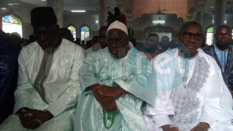 Photos-Tabaski:Le ministre de la Justice a prié à Tambacounda