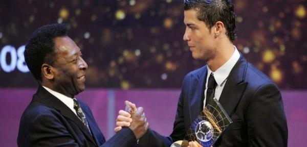 Le roi Pelé lance un gros défi à Cristiano Ronaldo