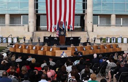 Obama rend hommage aux victimes de Fort Hood lors d'une émouvante cérémonie