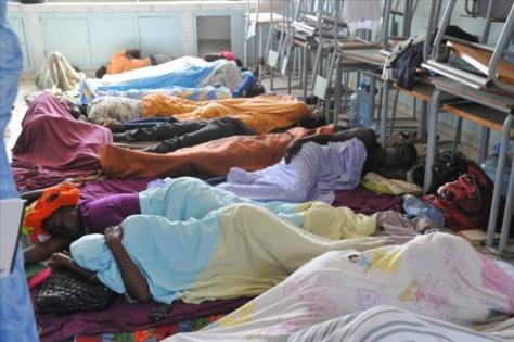 Grève de la faim pour la libération de Khalifa Sall : Déjà 5 jeunes évacués