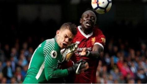 Liverpool : Sadio Mané regrette son geste sur le gardien des Citizens