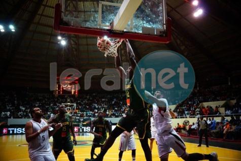 Galerie: Les temps fort de la rencontre Sénégal/Egypte de l'Afrobasket masculin 2017