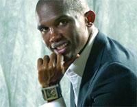 CAMEROUN : Eto'o offre une montre de 21 millions Cfa à chaque joueur