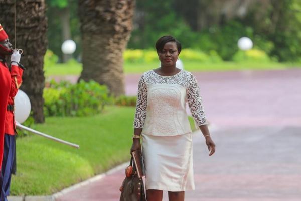 Aminta Angelique Manga, ministre de l'Economie Solidaire et de la Micro finance