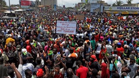 """Huit Mouvements citoyens africains dont """"Yen a marre"""" expriment leur solidarité envers le peuple togolais"""