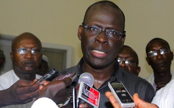 Cheikh Bamba Dièye proteste pour Khalifa Sall