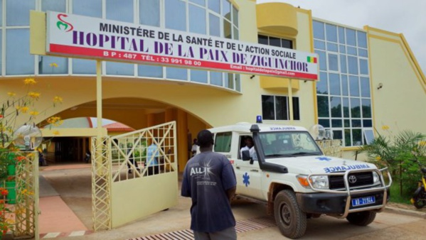 """Ziguinchor: Arrêt général de travail à l'hôpital de la """"Paix"""""""
