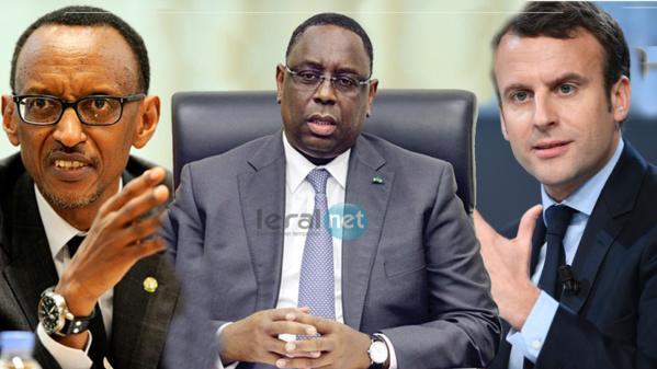 Médiation entre Paris et Kigali : Macky rapproche  Macron et Kagamé