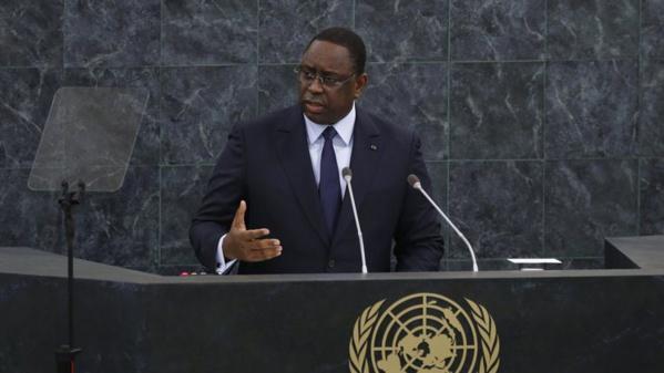 Macky Sall : « Il est temps de donner à l'Afrique la place qu'elle mérite au Conseil de Sécurité, et qu'elle réclame dans le Consensus d'Ezulwini »