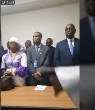 Vidéo-Usa: Macky Sall boude le meeting à cause …