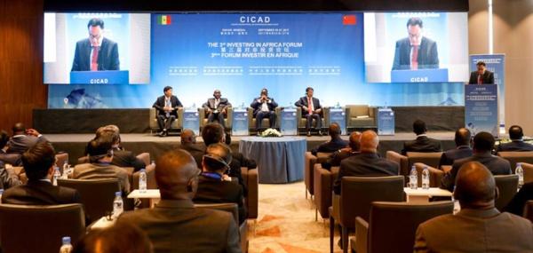 """3e forum """"Investir en Afrique"""": Macky Sall ' l'Afrique ne doit pas être considérée comme le continent du futur mais... '"""