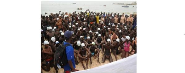 Traversée Dakar-Gorée 2017 : un petit jeune de 16 ans s'offre la tête des anciens