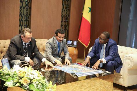 Macky Sall a reçu en audience le Sultan Ahmed Bin Suleyman, Président Directeur Général de DP World