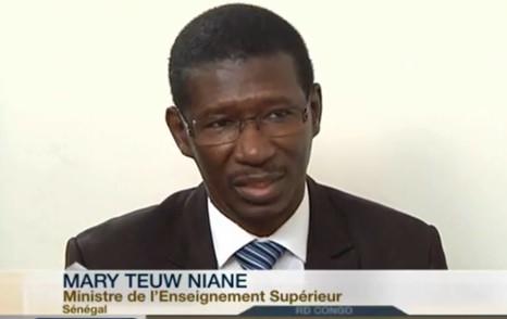 Mary Teuw Niane : «20 mille étudiants sénégalais poursuivent leurs études supérieures via le numérique»