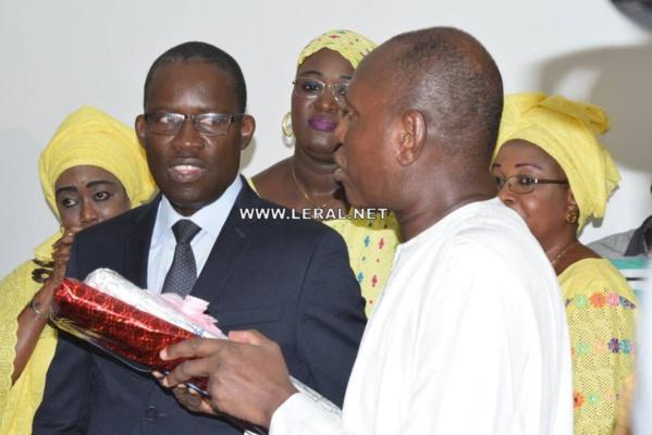 Photos : Alioune Badara Diop passe le témoin à Lansana Gandji Sakho à l'Office National de l'Assainissement du Sénégal (ONAS)