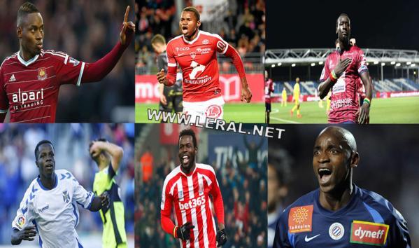 "Echo des ""Lions"" d'Europe : Diafra Sakho, Mame Birame Diouf, Famara Diédhiou, Amath Ndiaye, Souleymane Camara et Habib Diallo buteurs"