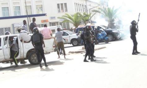 Guinaw Rail : 10 membres du collectif des impactés par le TER, arrêtés  par la police
