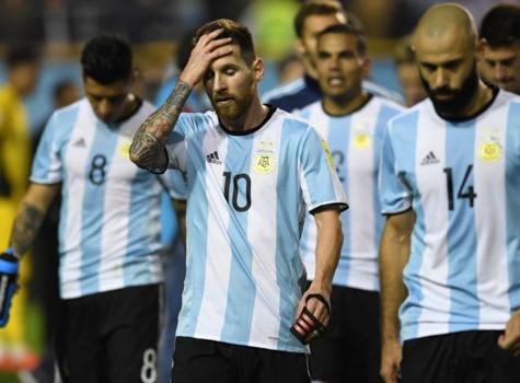 Méssi dépité, Argentine risque de rater Russie 2018
