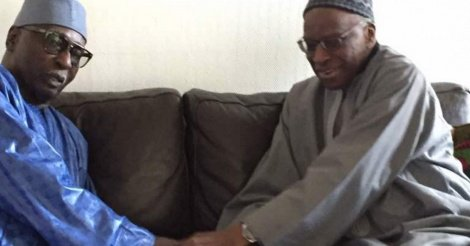 Serigne Mbaye Sy Mansour rend visite à Lamine Diack