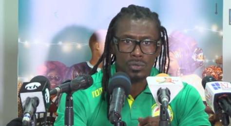 """Aliou Cissé - Coach des «Lions »: """"Mes joueurs n'ont pas l'intention de regarder cette Coupe du monde à la télévision"""""""