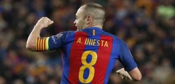 FC Barcelone: Andrés Iniesta signe un contrat à vie