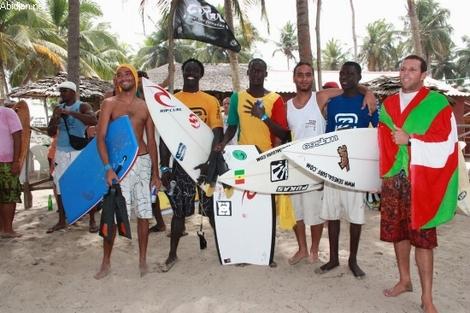 Championnat national Moov surf et bodyboard : La razzia des Sénégalais