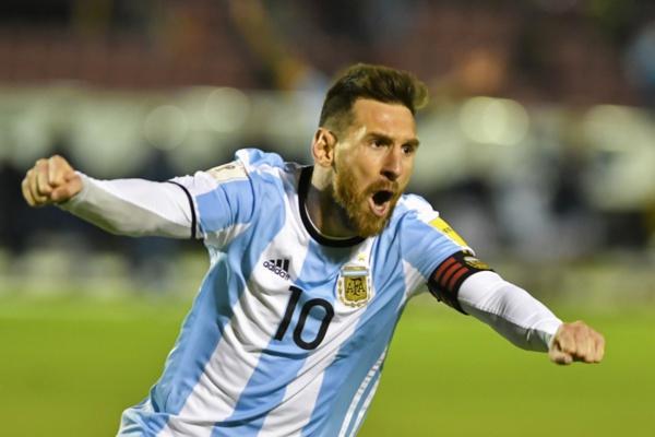 Messi envoi directement l'Argentine en Russie pour disputer la coupe du monde 2018