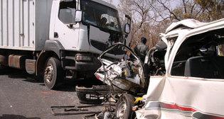 Accident à Koumpentoum: Une collision  entre un bus et un camion fait 3 morts et 12 blessés
