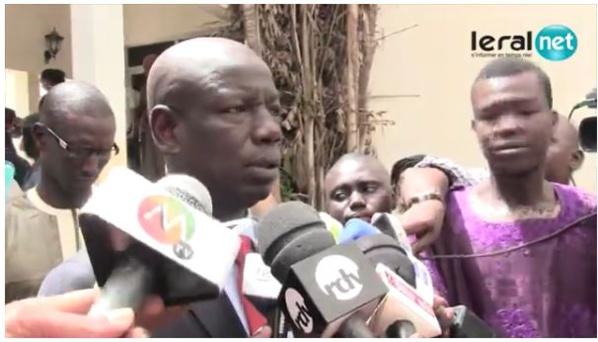 Abdoulaye Wilane : « Je ne suis pas allé voir Khalifa Sall en prison parce que… »