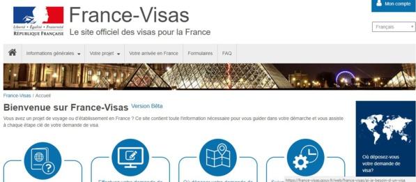 Visas pour la France :  un nouveau service lancé pour faciliter les démarches des demandeurs de visa