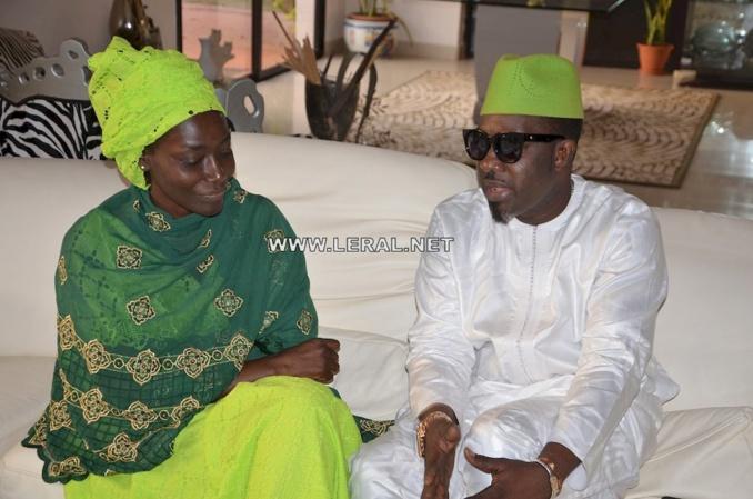 Photos : Mbaye Dièye Faye présente ses condoléances à sa soeur Coumba Gawlo