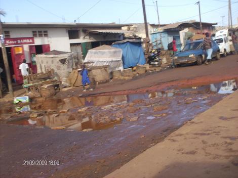 L'état des routes en question (reportage photos)