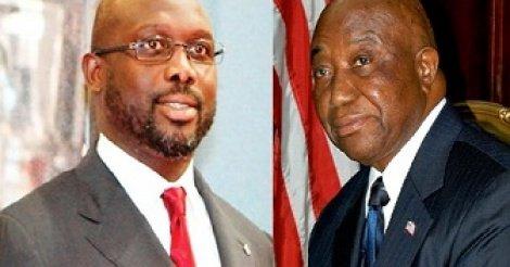 Présidentielle au Libéria: George Weah et Joseph Boakai s'affronteront au second tour