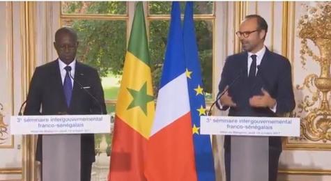 Edouard Philippe à Boun Abdallah Dionne : «Ce qui se passe au Sahel est essentiel pour le Sénégal et la France »